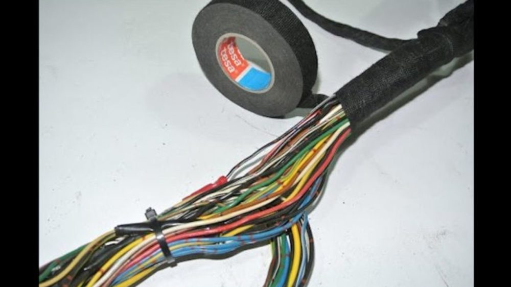 medium resolution of diy wiring harness clean up and restoration wiring harness connector cleaning wiring harness connector cleaning