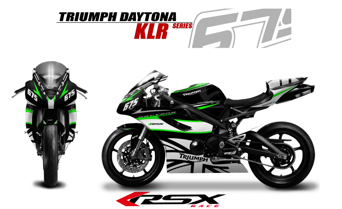 kit deco TRIUMPH DAYTONA 675 2006-12
