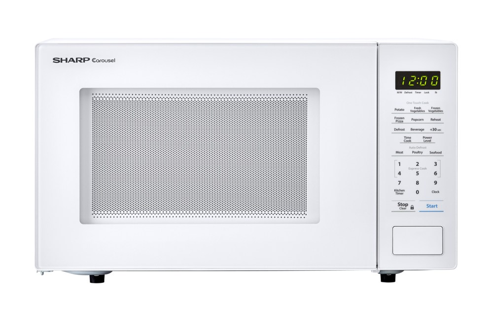 medium resolution of the innovative features of the sharp smc1131cw microwave like one touch controls auto defrost and the carousel turntable system make cooking and