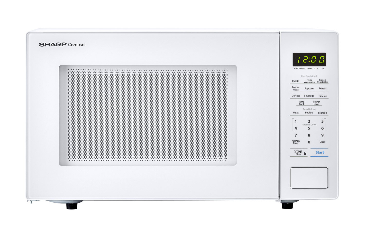 hight resolution of the innovative features of the sharp smc1131cw microwave like one touch controls auto defrost and the carousel turntable system make cooking and