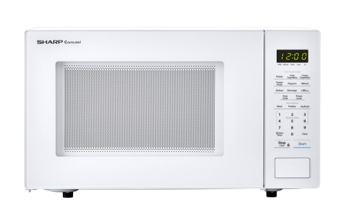 small resolution of the innovative features of the sharp smc1131cw microwave like one touch controls auto defrost and the carousel turntable system make cooking and