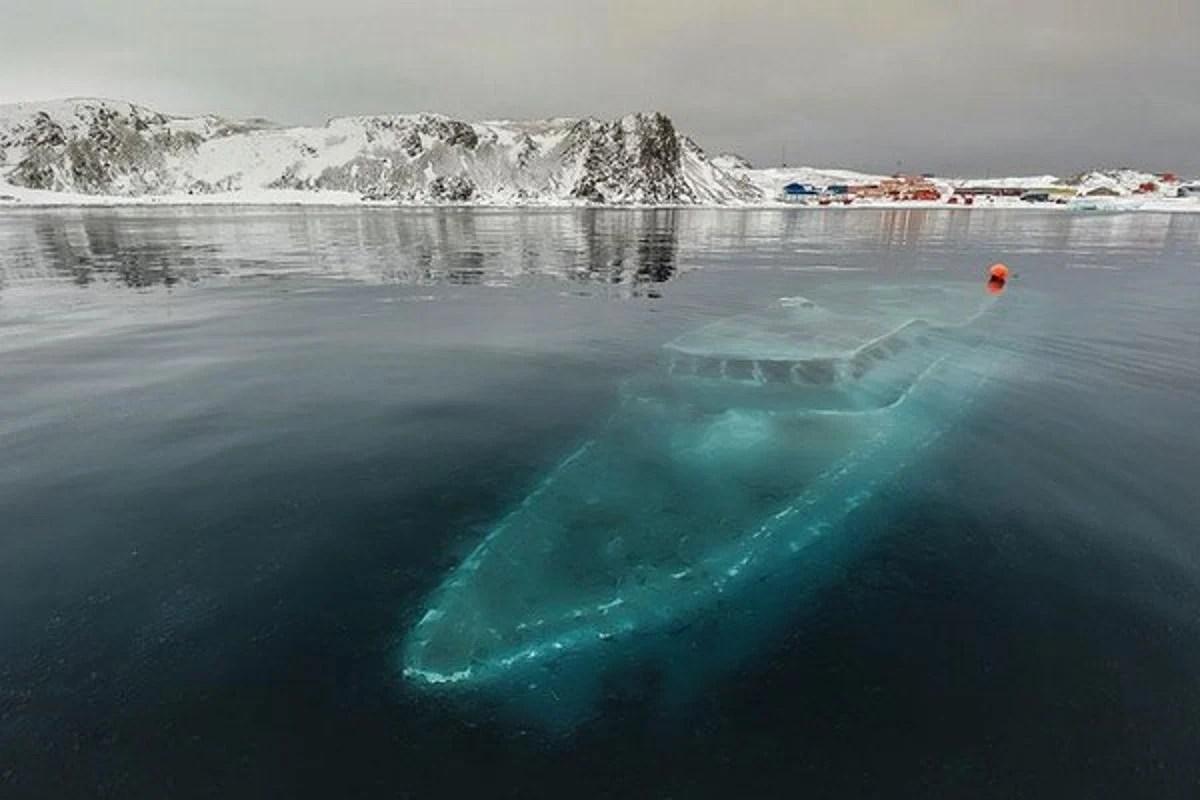 epave antartique