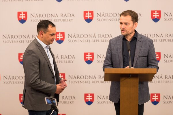 Igor Matovič a Peter Pollák.