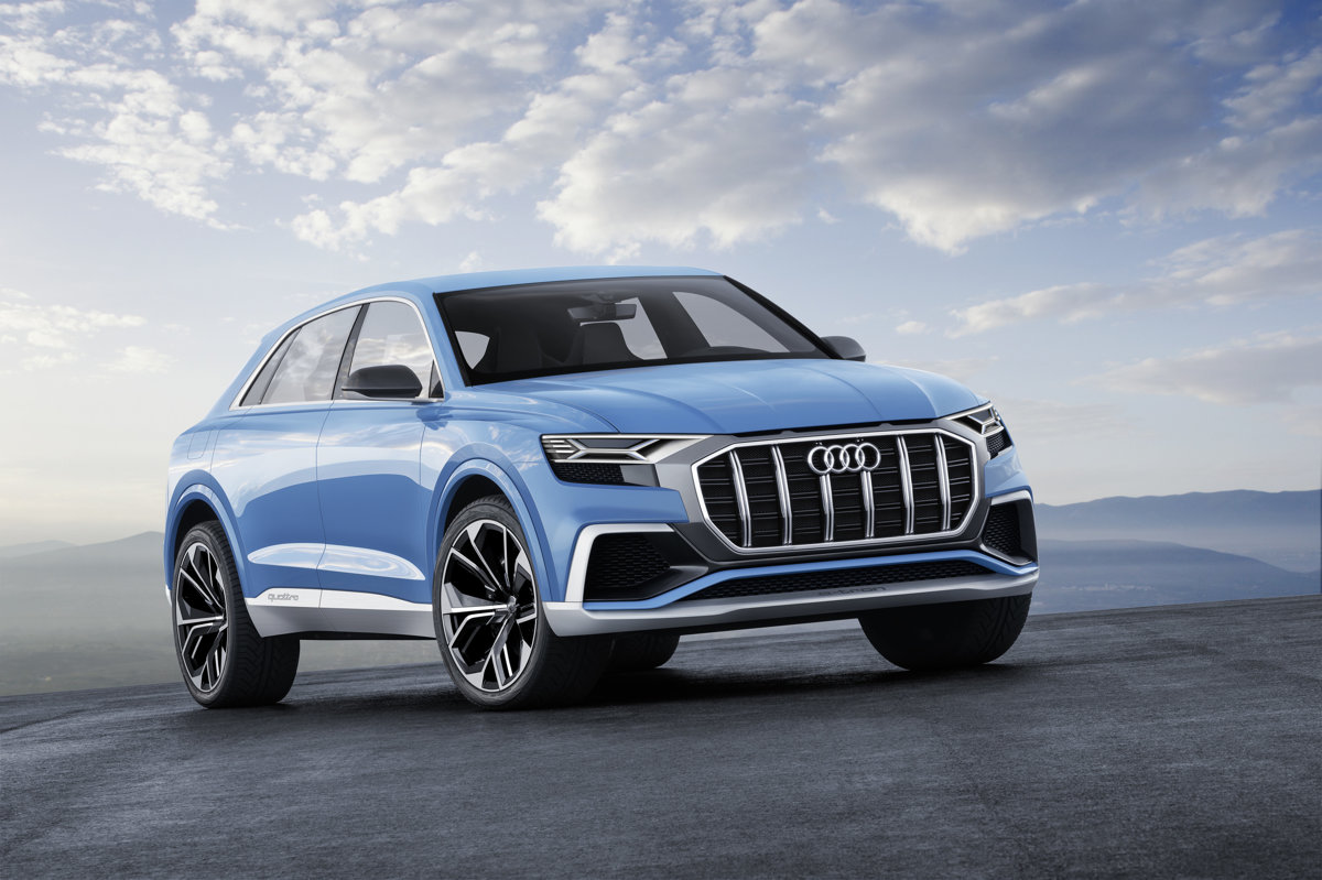 hight resolution of audi q8 concept