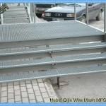 Pisadas De Escalera De Acero Galvanizadas Sumergidas Calientes Que Rallan Diversas Especificaciones