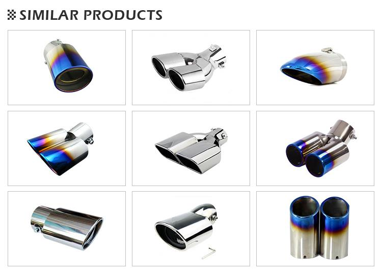 china customized 8 inch exhaust tip manufacturers and suppliers factory price list globaltech