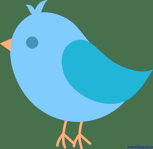 small resolution of cute blue bird clip art