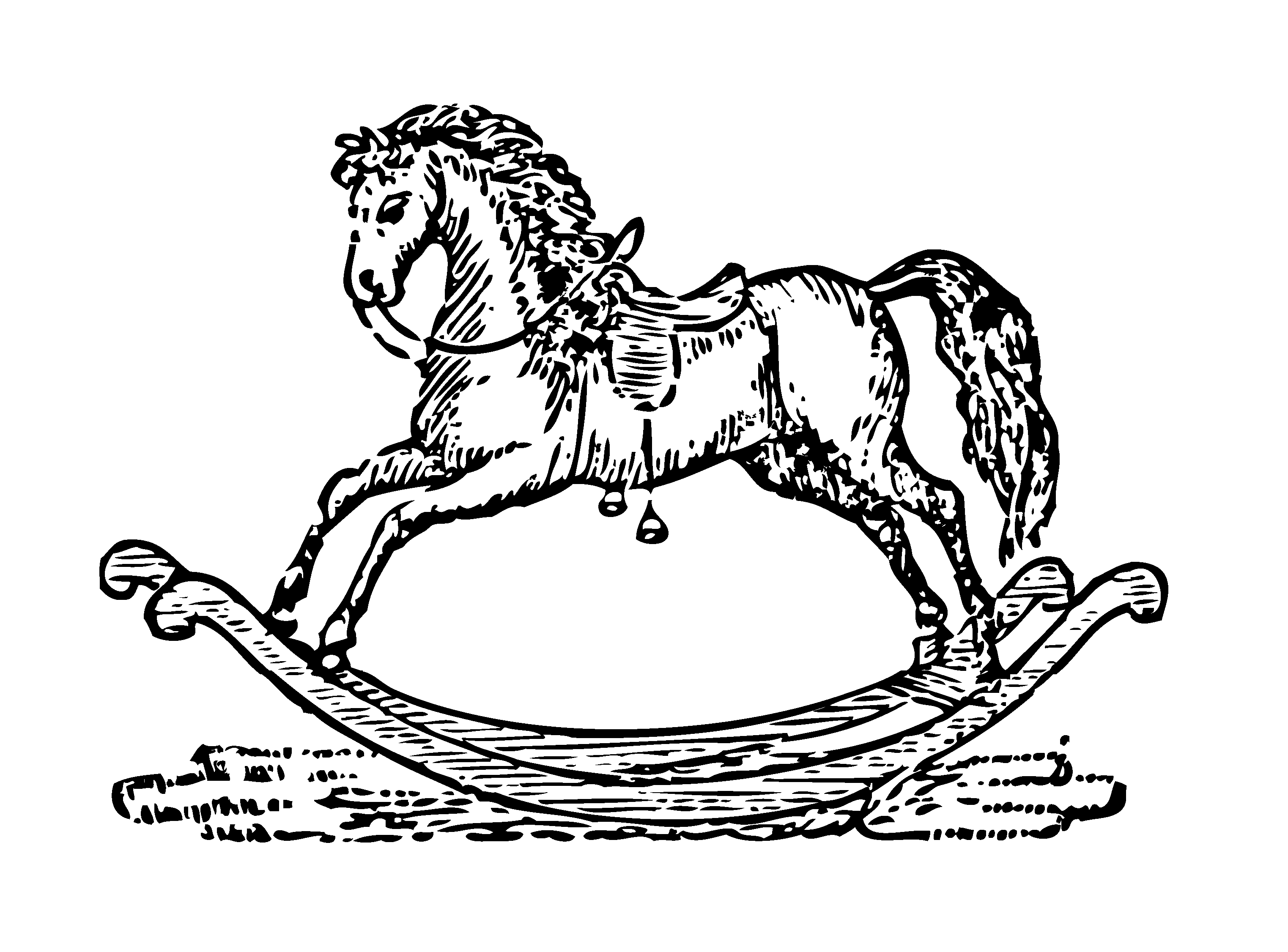 Rocking Horse Clipart