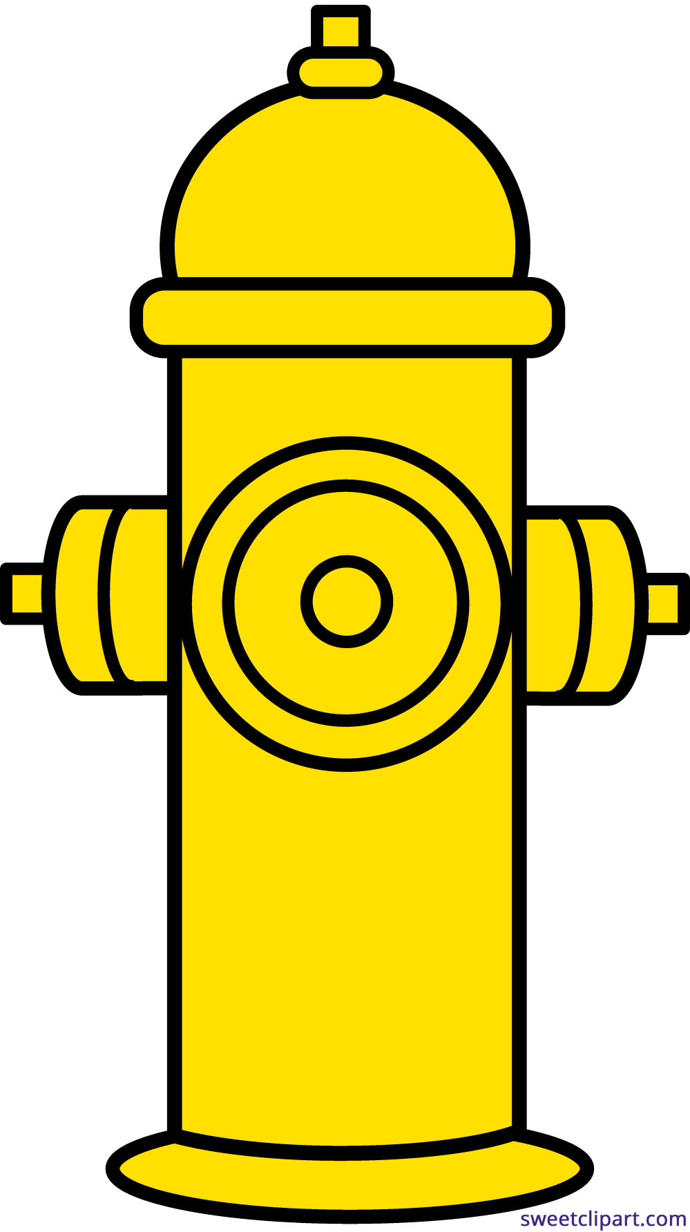 medium resolution of fire hydrant yellow clipart