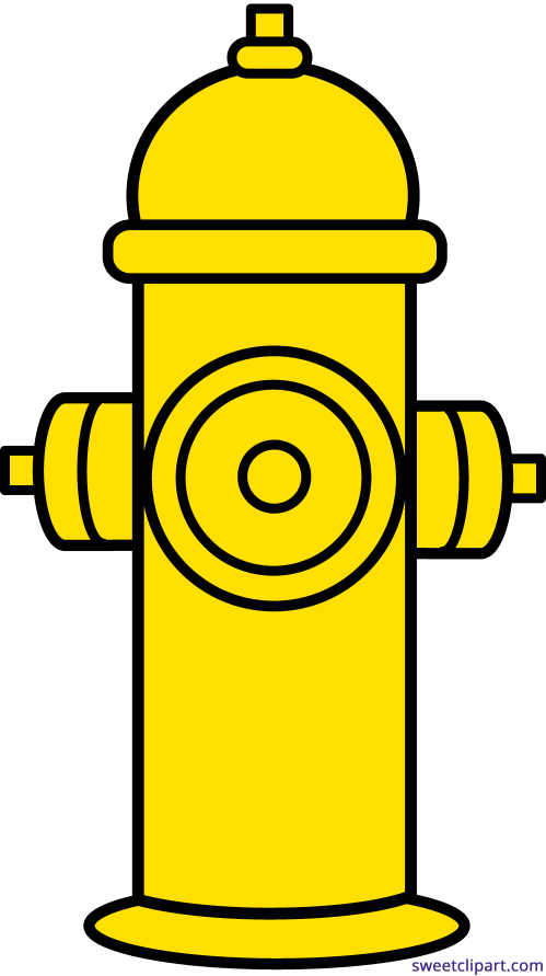 small resolution of fire hydrant yellow clipart