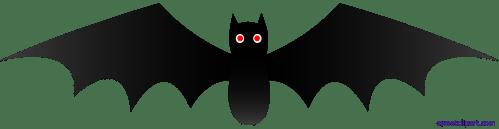 small resolution of halloween black bat 1 clipart