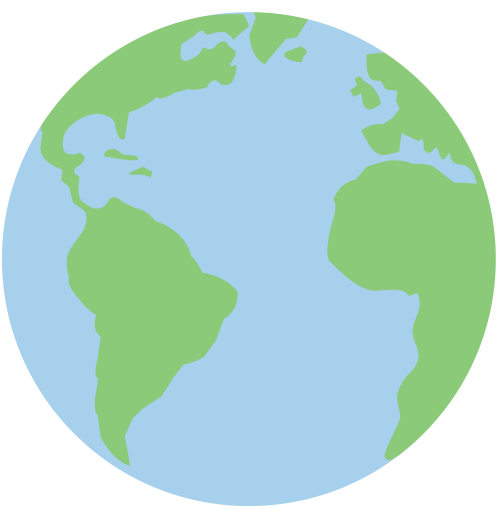 small resolution of planet earth pastel clip art