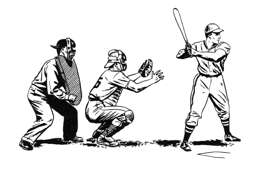 small resolution of public domain baseball clipart