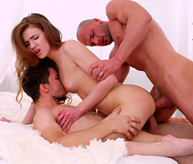 Hot Redhead Enjoys Great Company