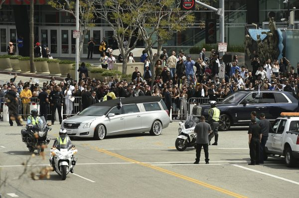 Image result for nipsey hussle funeral shooting