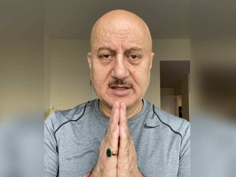Anupam Kher suggests the age-old Indian way of greeting people ...