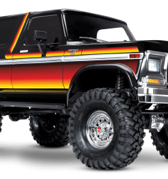 1979 ford bronco with sunset paint scheme [ 1500 x 896 Pixel ]