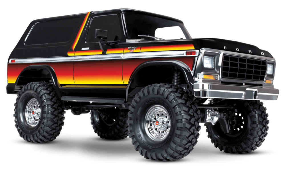 medium resolution of 1979 ford bronco with sunset paint scheme