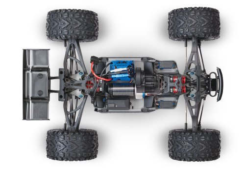 small resolution of e revo chassis look from above