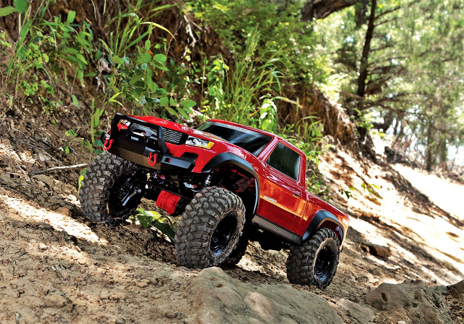 hight resolution of trx 4 sport in action