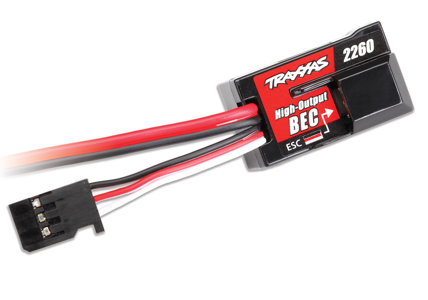 hight resolution of high voltage bec boosts receiver power for even the most demanding servos