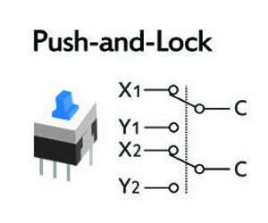 6 pin rocker switch wiring diagram horse muscle and bone pulsador on-off pines sw066, plus electronics, c.a.