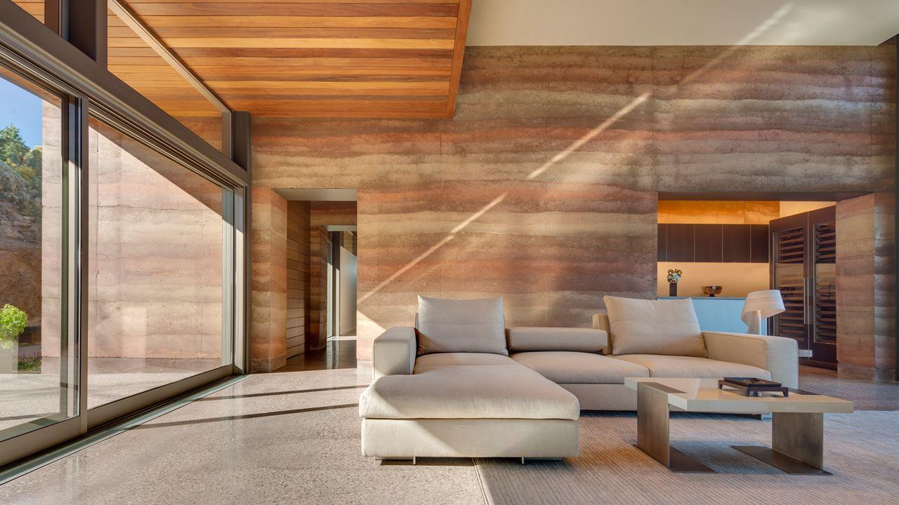 Rammed Earth House Plans
