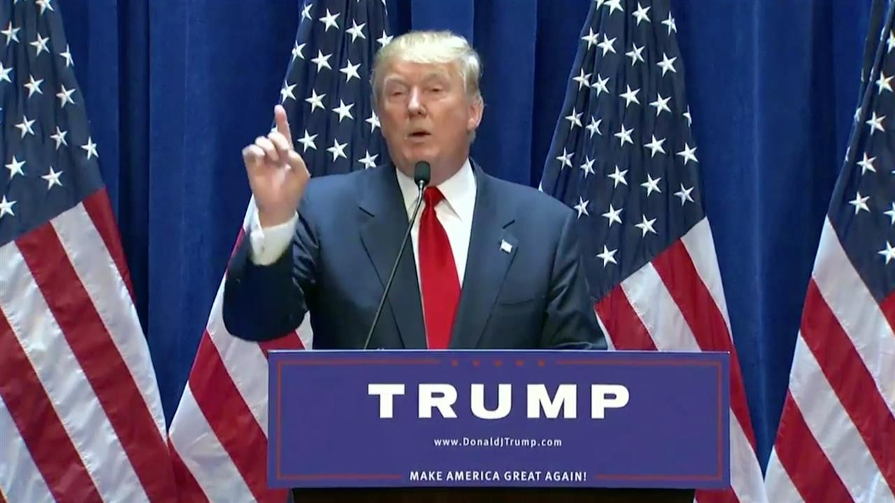 Highlights From Donald Trumps Campaign Announcement