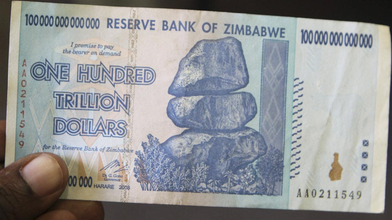 Us Compared Dollar Zimbabwe Currency