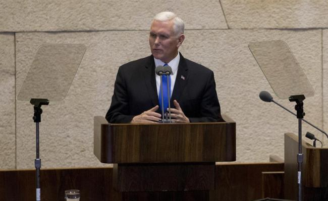 Pence U S Embassy Will Move To Jerusalem In 2019