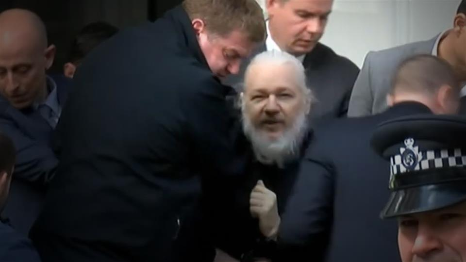 wikileaks founder arrested charged