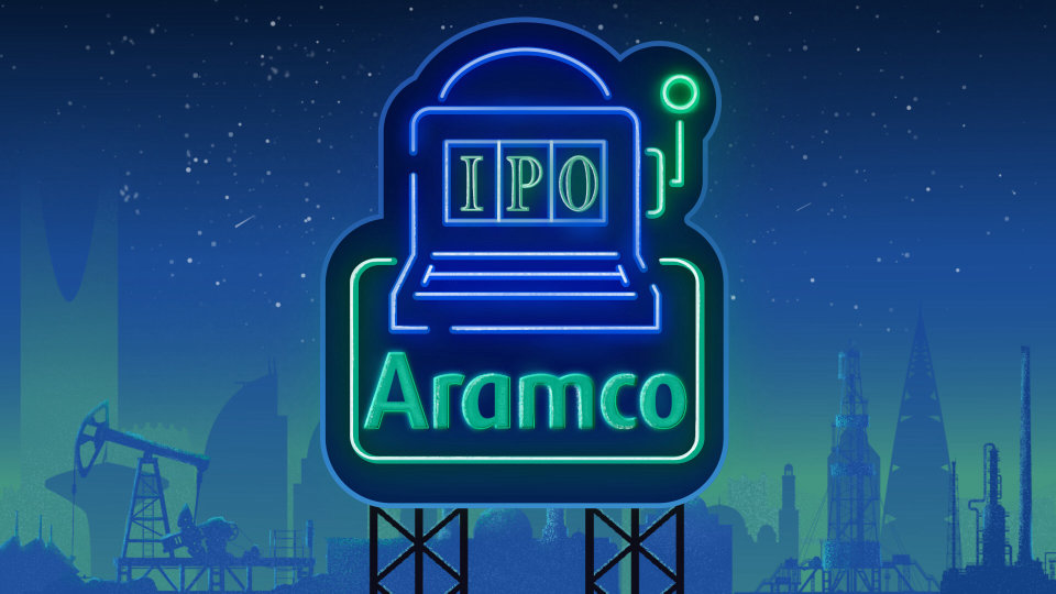 Saudi Aaramco Opens IPO at 32Riyal Per Share