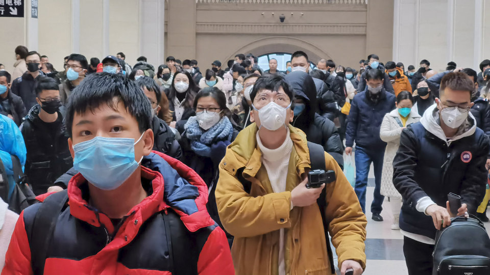 New Cases Drop in China as Virus Spreads Globally - WSJ
