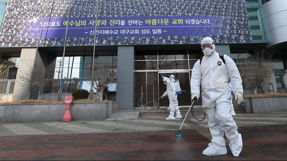 Coronavirus Cases Surge in South Korea, Tied Mainly to Megachurch ...