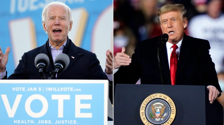 'One State Can Chart the Course': Biden, Trump's Dueling Rallies in Georgia