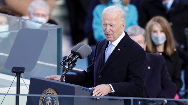 Biden Inaugural Address: 'Without Unity There Is No Peace'