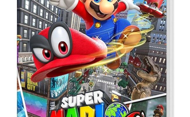 Nintendo Super Mario Odyssey Game For Nintendo Switch
