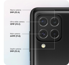 A quad camera for better image quality and less missed moments