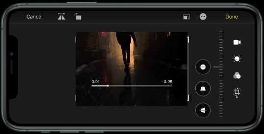 4K video! Shoot it. Flip it. Zoom it. Crop it. Cut it. Light it. Tweak it. Love it.