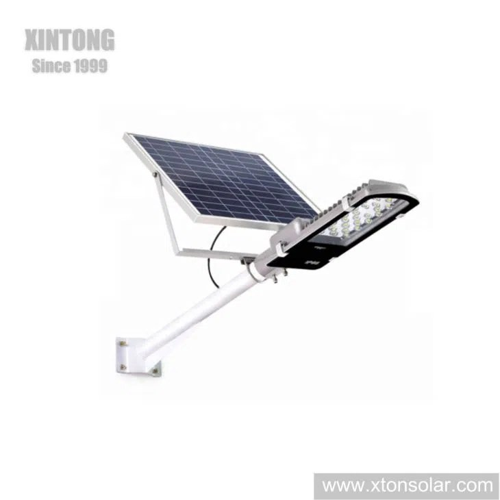 China Die Casting Aluminum Housing LED Solar Street Lamp