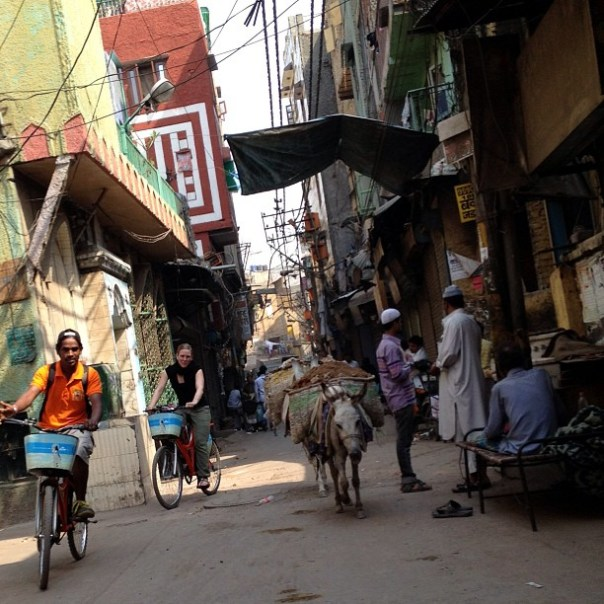 Delhi by Cycle /w @annikaweber
