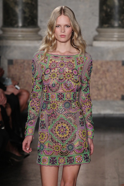 Her Look of the Day  Emilio Pucci At Milan Fashion Week