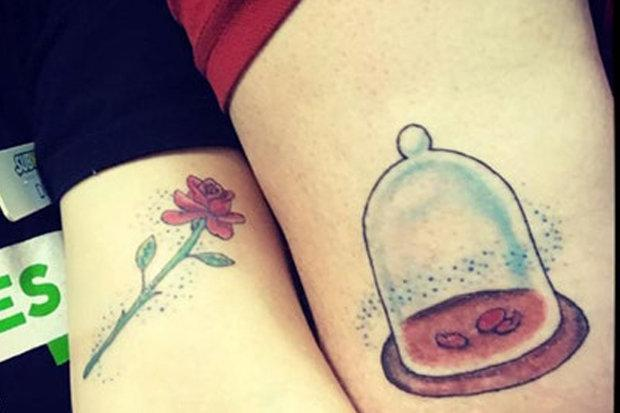 Beauty And The Beast Inspired Tattoos