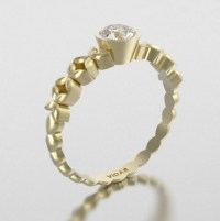 Yellow Gold Engagement Rings: Yellow Gold Engagement Rings ...