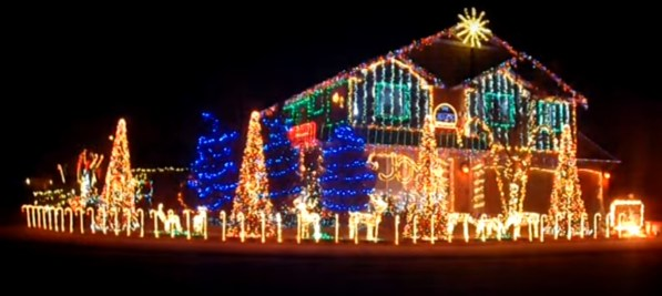 Image result for 'Offensive' Christmas Display