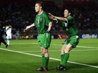 Damien Duff reveals inspiration behind THAT celebration | SportsJOE.ie