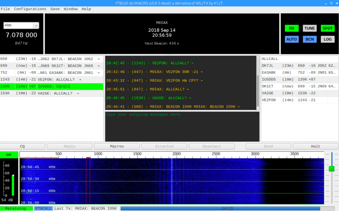 FT8Call Version 0.6.3 Released this evening