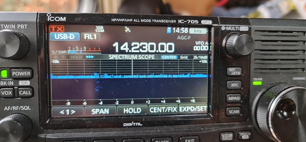 Set up MMSSTV and the IC-705