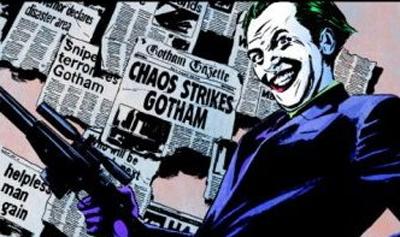 The joke's on Gotham...