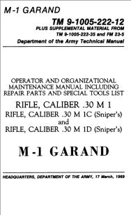 m1 rifle diagram speakon xlr wiring finding manuals for the garand tm 9 1005 222 12 maintenance manual